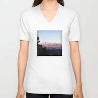 colorado V-neck T-shirts featuring Colorado by wendygray