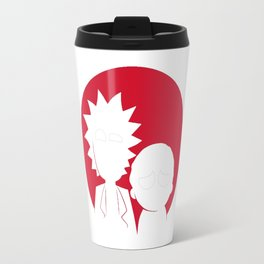 Rick And Morti Travel Mug
