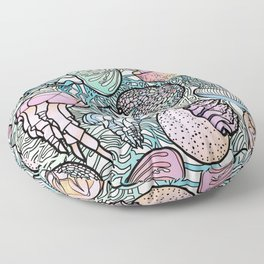 Jellyfishes Floor Pillow