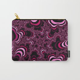 Pink abstract pattern. Striped pattern. Carry-All Pouch