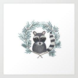 Banjo the Raccoon Art Print