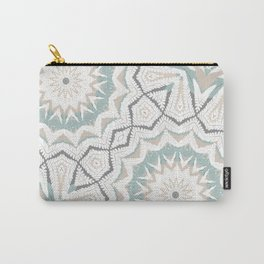 Planthouse Aztec Stone & Blue Carry-All Pouch