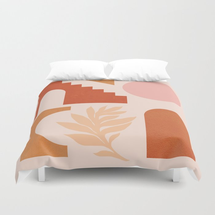 Abstraction_SHAPES_Architecture_Minimalism_002 Duvet Cover