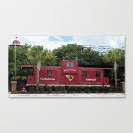Carolina, Cockaboose Railroad Canvas Print