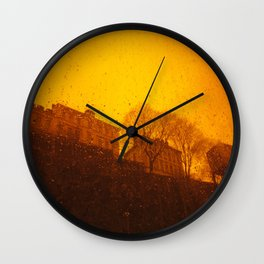 Stockholm the heights of ( Söder ) south Wall Clock