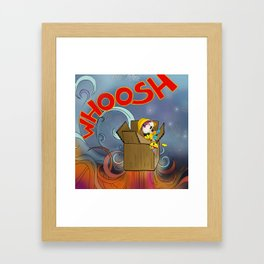 Whoosh! Framed Art Print