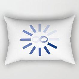 Wait Forever Rectangular Pillow