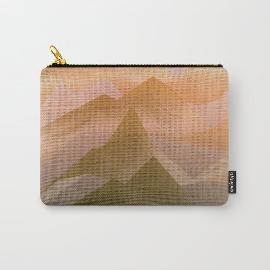 Top of the World (Sunrise) Carry-All Pouch