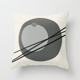 Juxtapose III Throw Pillow