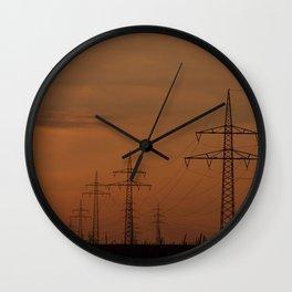 Energy,Impression Wall Clock