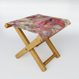 Dancing Girl Folding Stool