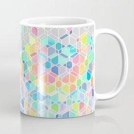 Rainbow Cubes & Diamonds Coffee Mug