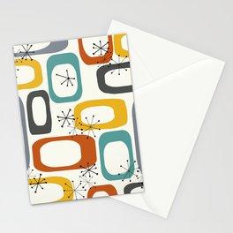 Mid Century Modern Shapes 02 #society6 #buyart Stationery Cards