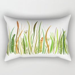 Prairie Watercolor by Robayre Rectangular Pillow