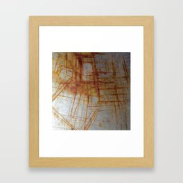 Rusty Boxy Framed Art Print