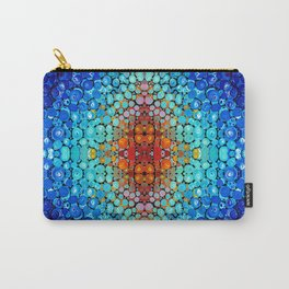 Inner Vision - Colorful Spiritual Abstract Art By Sharon Cummings Carry-All Pouch