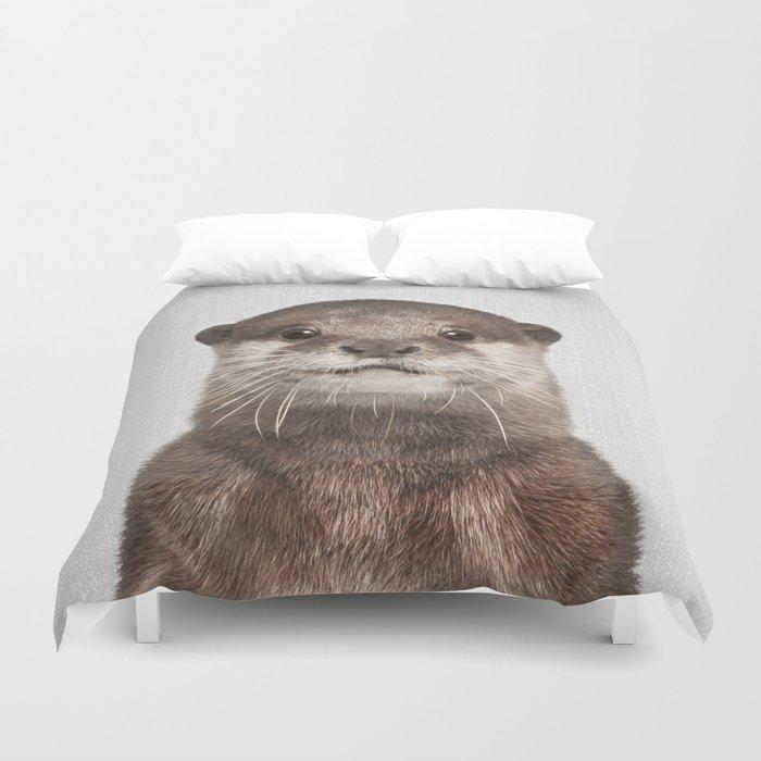 Otter - Colorful Bettbezug