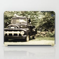 Ford in a Field iPad Case