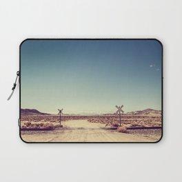 Railroad Crossing California desert Laptop Sleeve