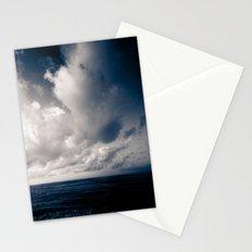 summer ver.navyblack Stationery Cards