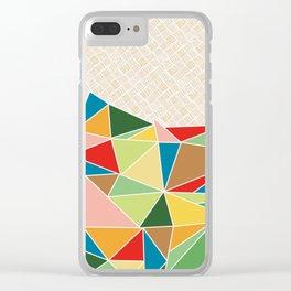 Triangle Heap Clear iPhone Case
