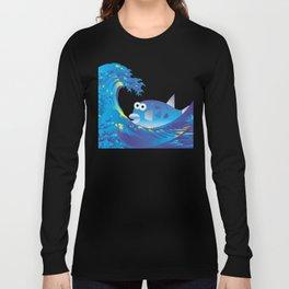 Hokusai Rainbow & Globefish  Long Sleeve T-shirt