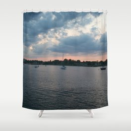 Sailing on the Navesink Shower Curtain