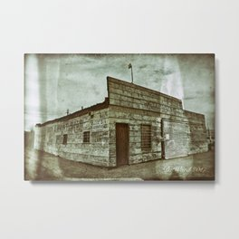 Tire and Lube Metal Print