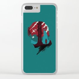 The Many Faces of Cinema: Donnie Darko Clear iPhone Case