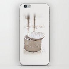 Collecting raindrops iPhone & iPod Skin