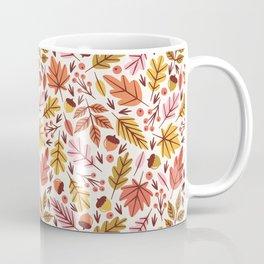 Leaves & Acorns Coffee Mug