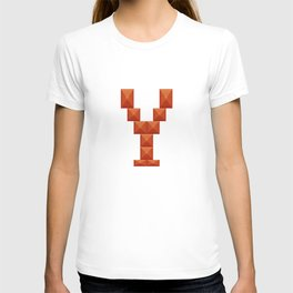 """Letter """"Y"""" print in beautiful design Fashion Modern Style T-shirt"""