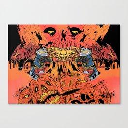 Artmageddon Canvas Print