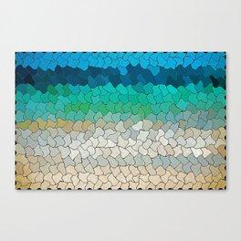 SEA MOSAIC Canvas Print