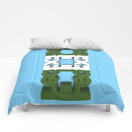 Symmetry: Crocodile Comforters