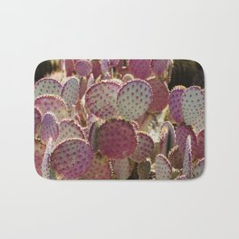 Purple Cactus Bath Mat