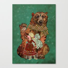 Magic Bearer Canvas Print
