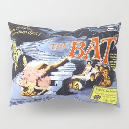 The Bat, vintage horror movie poster Pillow Sham