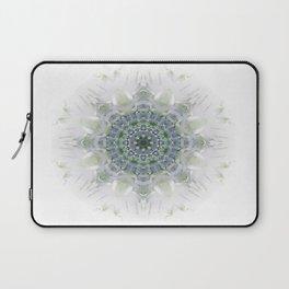 Light Birch Mandala Laptop Sleeve