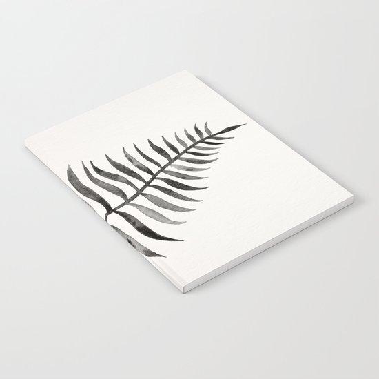 Black Palm Leaf Notebook