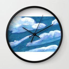 chunk of sky #1 Wall Clock