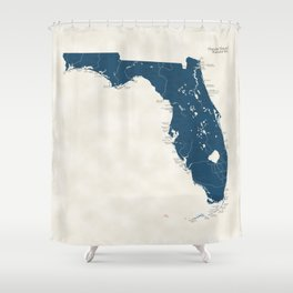 Florida Parks - v2 Shower Curtain