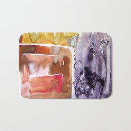 Landscape with Argonauts - Abstract 0036 Bath Mat