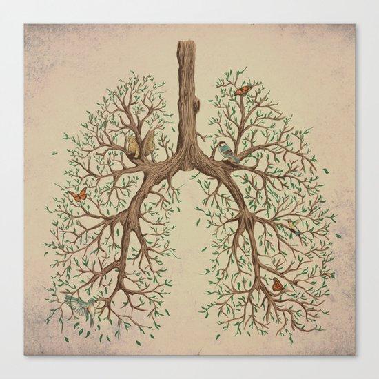 Breathe! Canvas Print