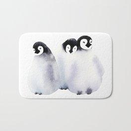 Fluffy Penguins - Baby Animals Bath Mat