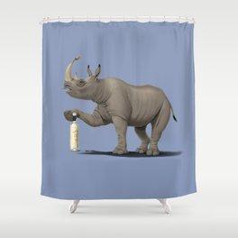 Cork it, Dürer! [HD] (Colour) Shower Curtain