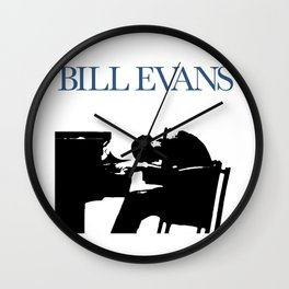 Bill Evans Wall Clock