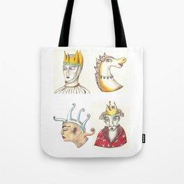 Four Faces Tote Bag