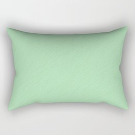 Linen White Thin Pinstripe Angled Lines on Pastel Mint Green Pairs to Coloro 2020 Color of the Year Rectangular Pillow