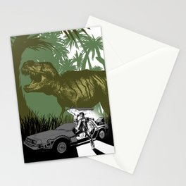 Back to the Jurassic Stationery Cards